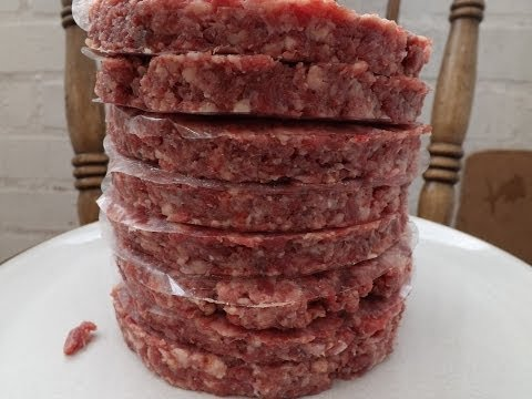 How To Make Beef Burgers.The Ultimate Burger. #SRP