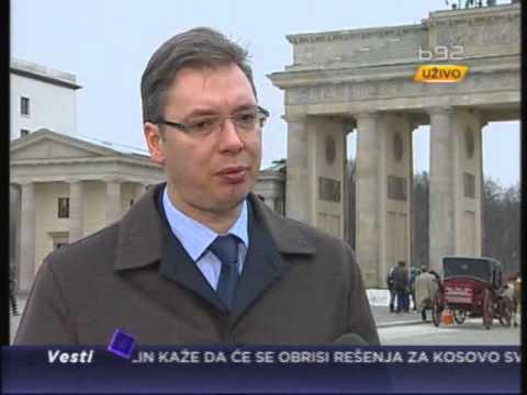 Vučić za B92: Do datuma hod po žici