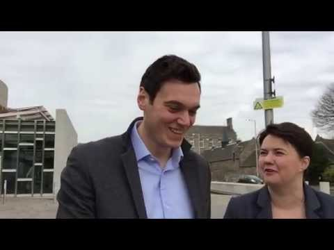 Selfie Stick Interview With Scottish Tory Leader Ruth Davidson About Herself