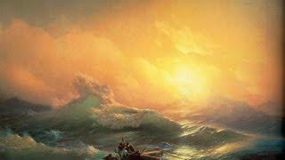 Как нарисовать море мастер класс