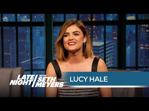 Lucy Hale Discusses the Pretty Little Liars Finale - Late Night with Seth Meyers
