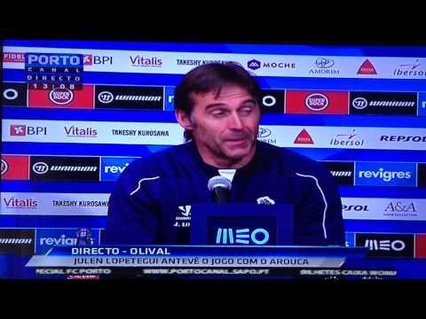 Julen Lopetegui sobre o Rui Gomes da Silva: