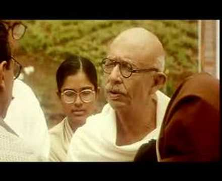 Best actor in the world - Kamal Haasan talking to Gandhi