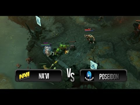Na'Vi vs Poseidon @ WePlay.TV Dota 2 League - Season 2