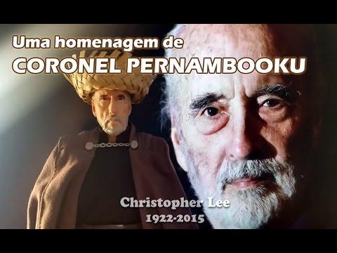 Coronel Pernambooku homenageia Christopher Lee