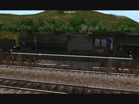 Paulz Trainz UK LMS Beyer Garratt steam articulated loco.