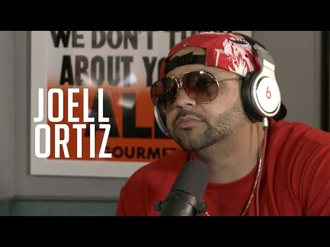 Joell Ortiz only wants to rap... Ebro wants an interview.. Awkwardness ensues!