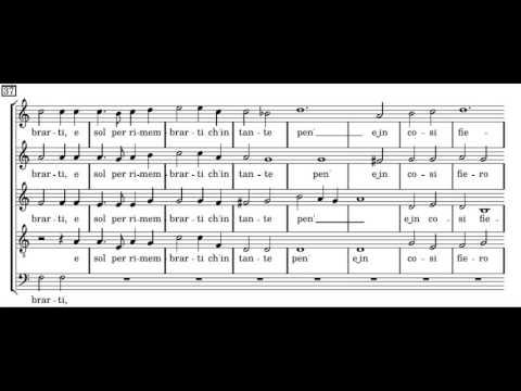 Монтеверди Клаудио - Anima del cor