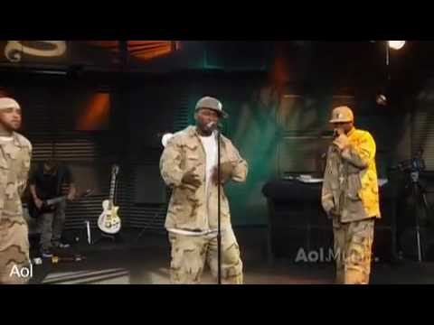 50 cent - A Baltimore Love Thing (Live @ AOL Sessions)