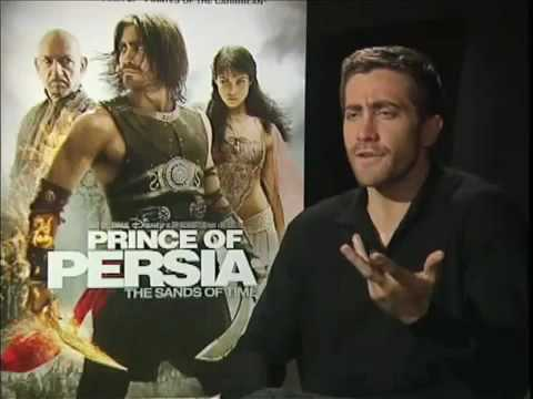 Hilarious Jake Gyllenhaal (Prince of Persia The Sands of Time) Interview