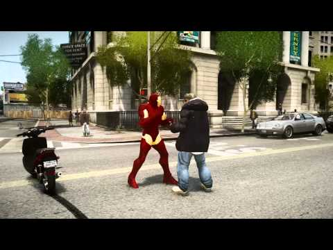 Iron Man MK III + GTA IV + iCEnhacner 1.2.5 Final Modified Settings by H1Vltg3
