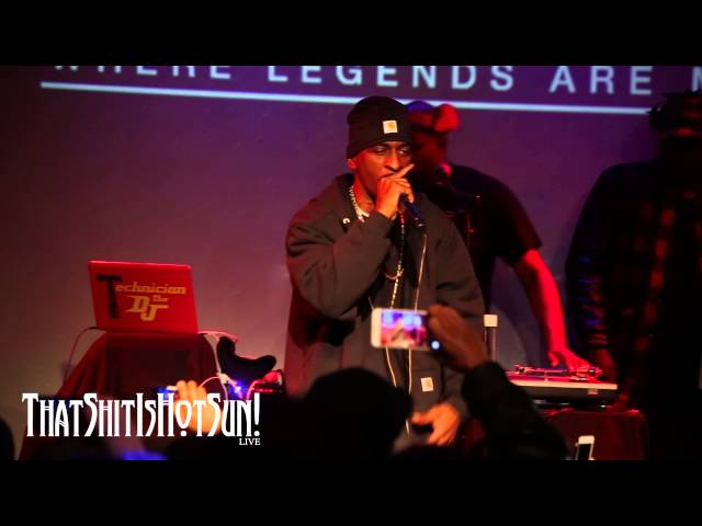 RAKIM PERFORMS ITS BEEN A LONG TIME AT SOB39S IN NYC 11 11 15
