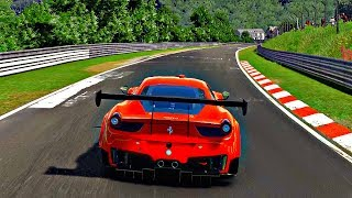 Gran Turismo Sport - Gameplay Ferrari 458 GT3 @ Nurburgring Nordschleife [1080p 60fps]
