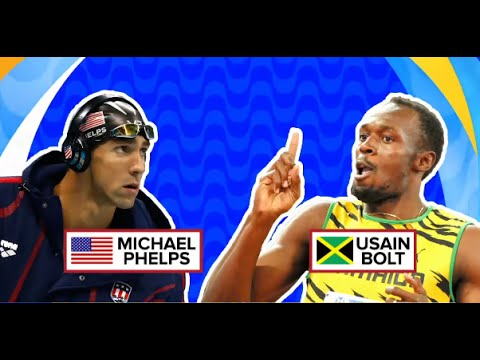 Usain Bolt v Michael Phelps | Which Olympian is Worth More?