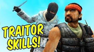 TRAITOR SKILLS! - Trouble in Terrorist Town Funtage