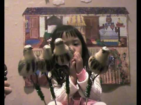손유희-율동동요-참새 다섯마리