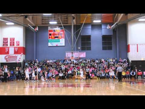 Monroe High School Pink Out Event