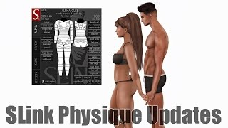 SLink Physique Updates for December 2016 in Second Life