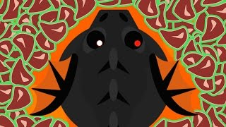 3X BLACK DRAGON DEATHS MOPE.IO! INSANE KILLS MONTAGE + MOPE CLAN / COLOSSAL POWER (Mopeio Gameplay)