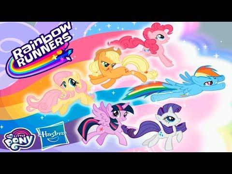 My Little Pony Радужные Гонки ПОЛНАЯ ВЕРСИЯ Все Маленькие Пони Обзор Игры Детское Видео