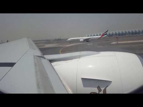 Taking Off with B777-300ER from Dubai International Airport (DXB)