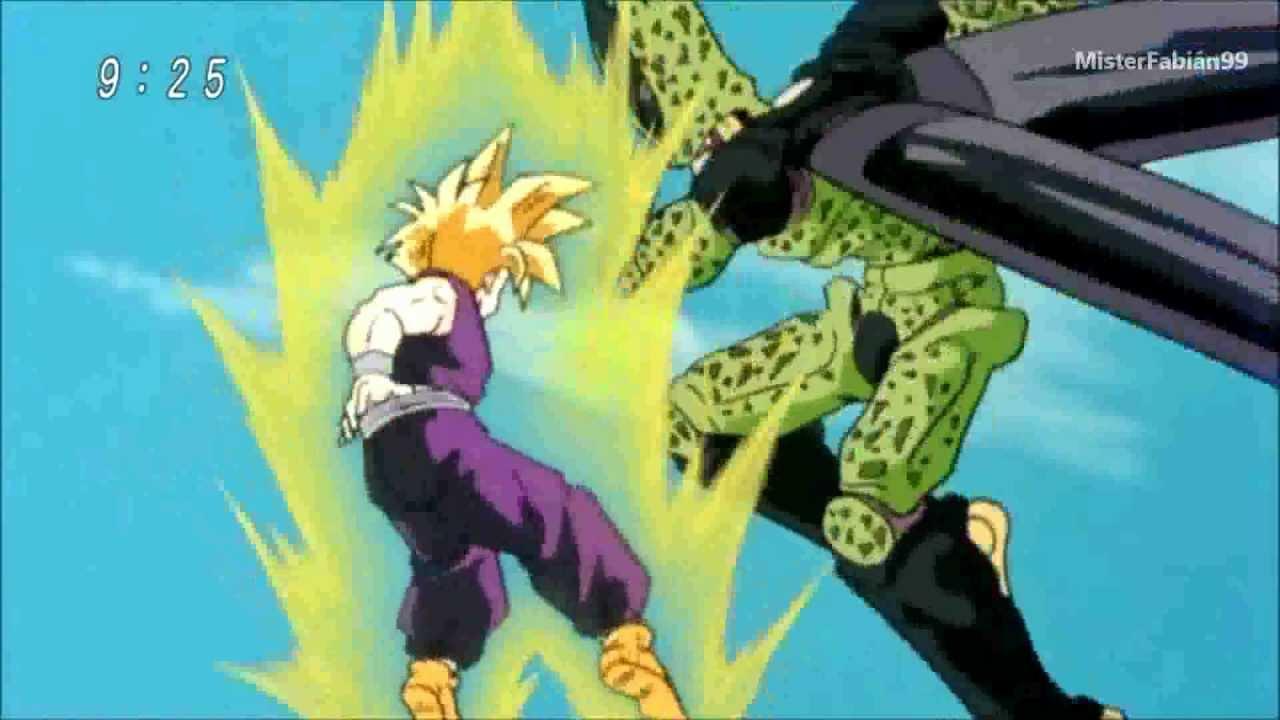 Dragon Dragon Rock The Dragon Dragon Ball z Dragon Ball Kai Gohan vs Cell