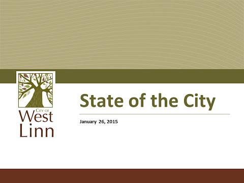 2015 West Linn State of the City Address