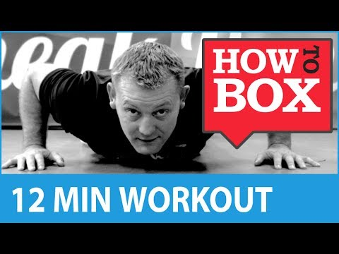 Boxing Workout - Fitness Training at Home (No Equipment) Image 1