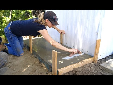 DIY Koi Pond Construction   Pond Filtration Station - Part 13