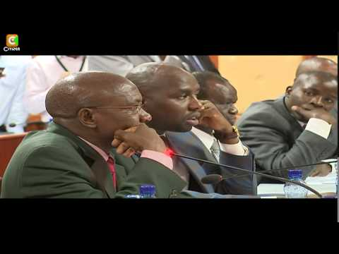EACC Commissioners Probed