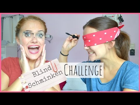 Blind-schminken-challenge Mit Emmy ♡ [videowoche Tag 6] video