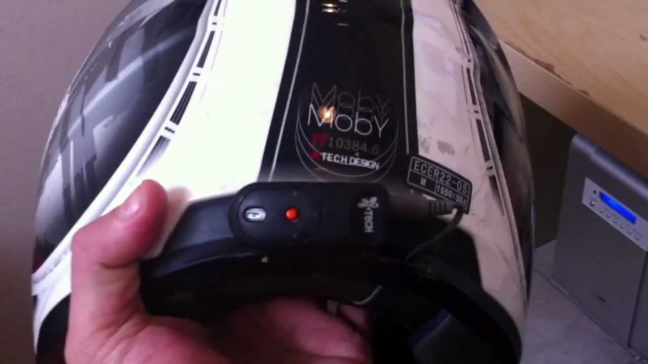 Turning Your Motorcycle Helmet Into A Bluetooth Helmet In