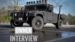 What it's like to own a Military Hummer | Humvee M998