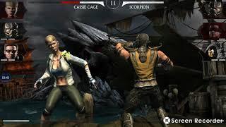 Mi 1er game play Mortal Kombat X para Android