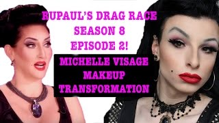 Michelle Visage Boy to Girl Transformation | RuPauls Drag Race