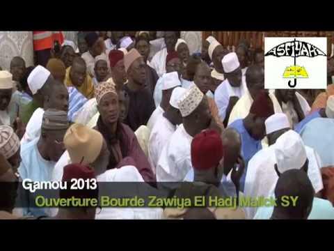 OUVERTURE BOURDE GAMOU TIVAOUANE 2013 - Zawiya El Hadj Malick Sy (rta