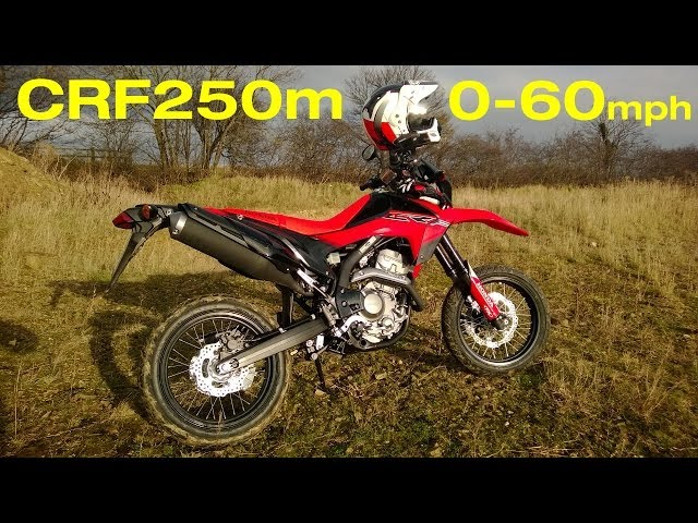 Honda 2013 CRF250m everyday use review 0-60 test Part1 vodka redbull & dry roasted