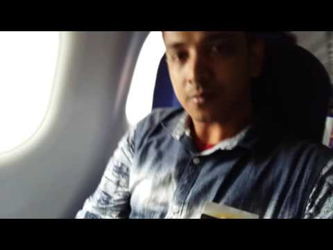 Indigo airlines takeoff from banglore  video  by muddasir  ahamed