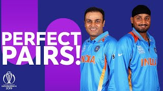 How Well Do Sehwag & Harbhajan Know Each Other? | Perfect Pairs | ICC Cricket World Cup 2019
