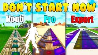Download lagu Don't Start Now Noob vs Pro vs Expert (Fortnite Music Blocks) - Code in Description