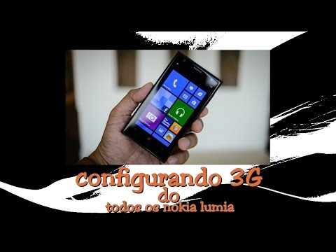 como configurar 3G de qualquer celular Nokia lumia
