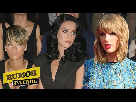 Katy Perry & Rihanna Diss Taylor Swift? Nicki Minaj Hooks Up With Cara Delevingne? (rumor Patrol) video