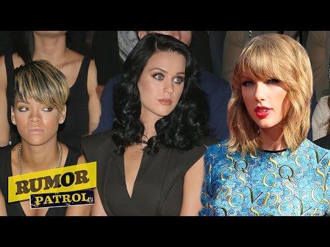 Katy Perry & Rihanna Diss Taylor Swift? Nicki Minaj Hooks Up with Cara Delevingne? (RUMOR PATROL)
