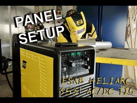 ESAB Heliarc 353i AC/DC TIG Welder