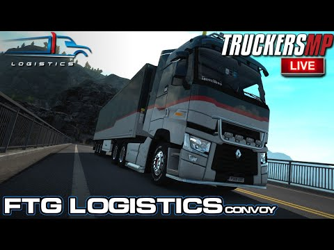 EPIC CONVOY ON THE WRONG SIDE OF THE ROAD !!! | TRUCKERSMP - ETS2