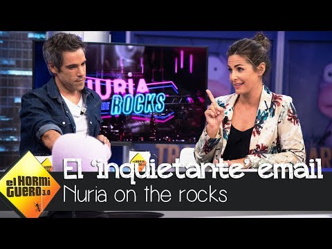 """Nuria Roca recibe un """"inquietante"""" email de un compañero - El Hormiguero 3.0"""
