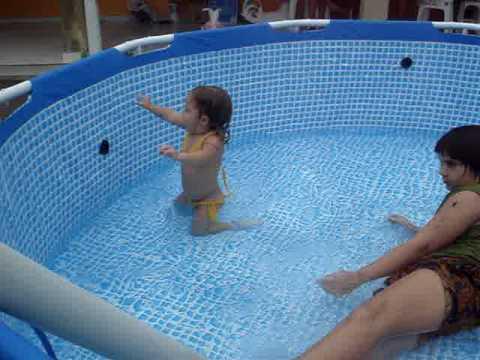 Inaugura o da piscina 22 02 2009 058 youtube for Piscina 6500 litros