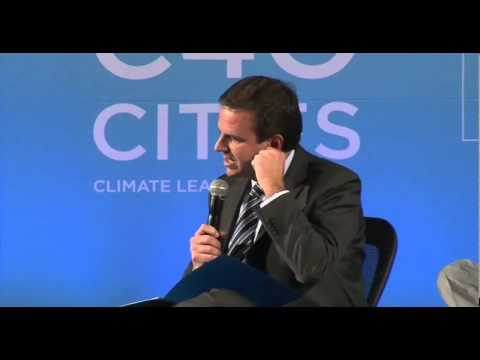 C40 Mayors Summit Plenary Session 1 - Joburg 2014