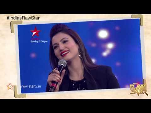 India's Raw Star: Gorgeous Gauhar Khan's amazing singing act!