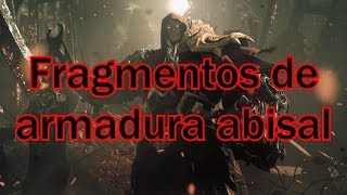 Darksiders Warmastered Fragmentos de la armadura abisal